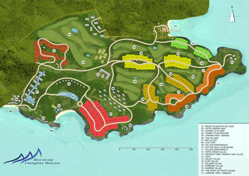 The Resort Map