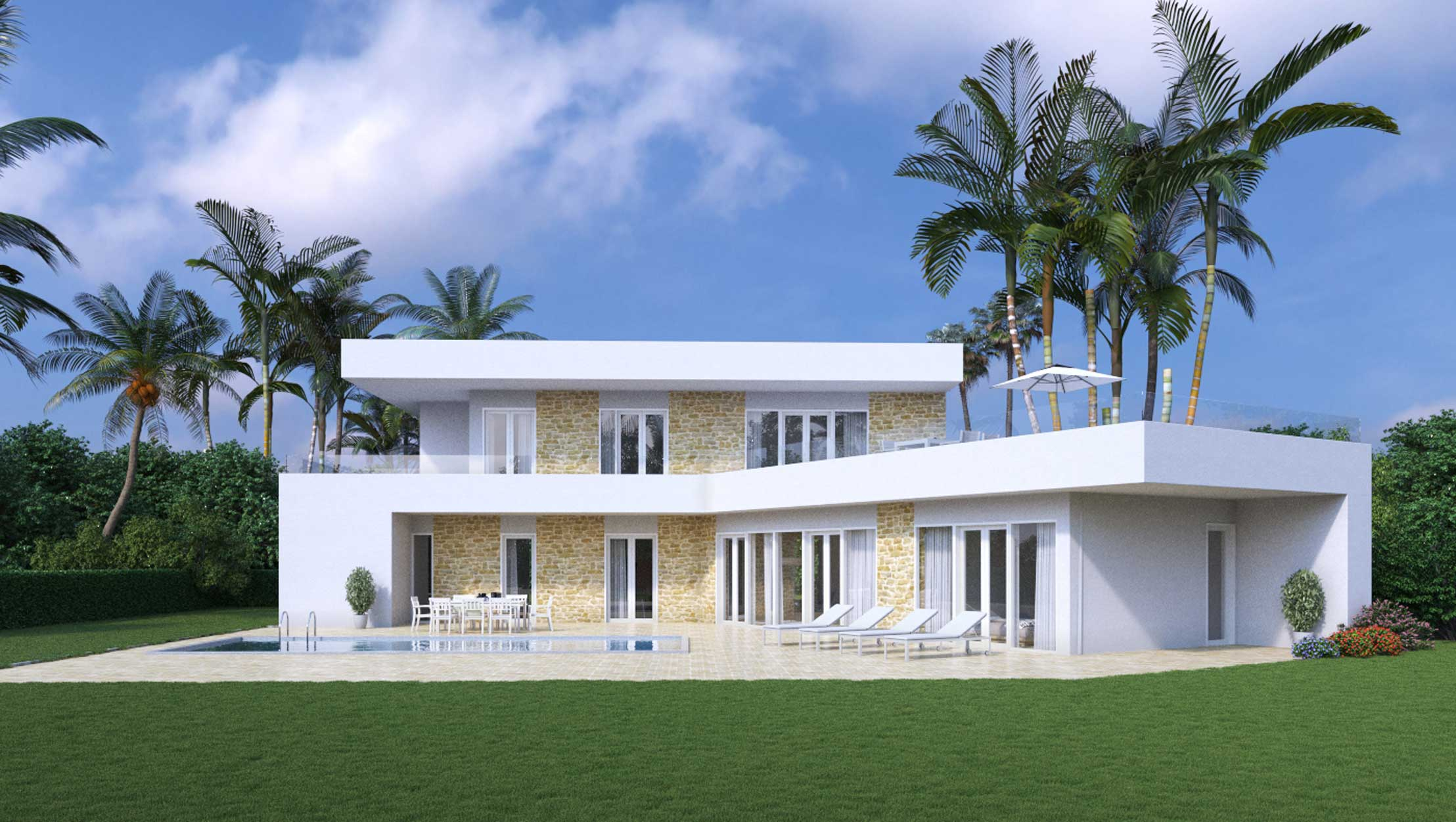 4 Bedrooms Superior Villa - Reference: SV-04